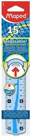 MAPED Flex hajlítható műanyag vonalzó 15 cm