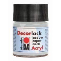 MARABU Decorlack Acryl ezüst színű akrilfesték 15 ml - 782
