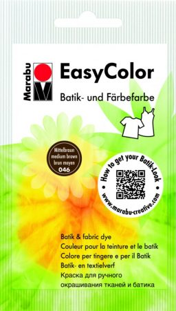 MARABU Easy Color középbarna batikoló- és kézi textilfesték 25 g - 046