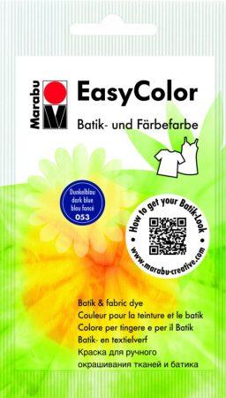 MARABU Easy Color sötétkék batikoló- és kézi textilfesték 25 g - 053