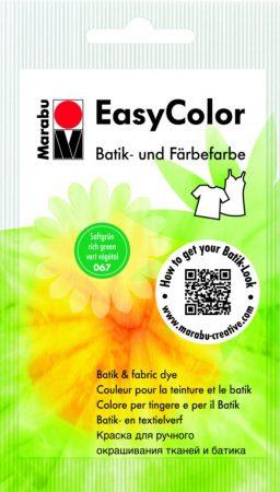 MARABU Easy Color középzöld batikoló- és kézi textilfesték 25 g - 067