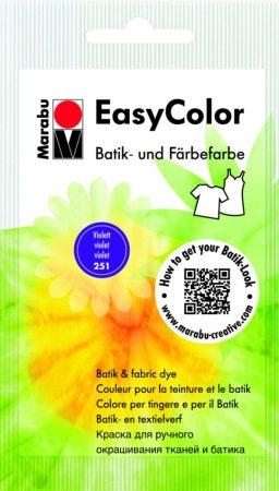 MARABU Easy Color ibolya batikoló- és kézi textilfesték 25 g - 251