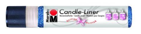 MARABU Candle-liner csillámos átlátszó gyertyadíszítő toll 25 ml - 590