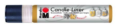 MARABU Candle-liner metál arany gyertyadíszítő toll 25 ml - 784