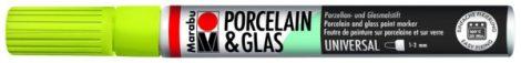 MARABU Porcelain & Glas rezeda zöld porcelánfilc / üvegfilc - 061