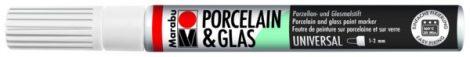 MARABU Porcelain & Glas fehér porcelánfilc / üvegfilc - 070