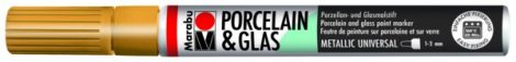 MARABU Porcelain & Glas arany porcelánfilc / üvegfilc - 084