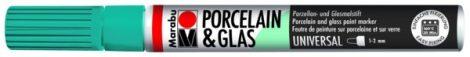 MARABU Porcelain & Glas petrol porcelánfilc / üvegfilc - 092