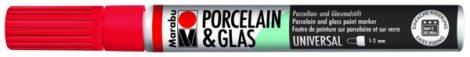 MARABU Porcelain & Glas cseresznye porcelánfilc / üvegfilc - 125