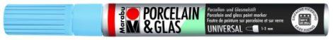 MARABU Porcelain & Glas égkék porcelánfilc / üvegfilc - 141