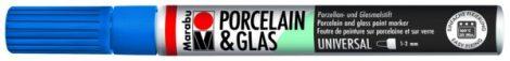 MARABU Porcelain & Glas enciánkék porcelánfilc / üvegfilc - 142