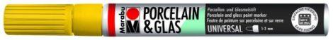 MARABU Porcelain & Glas napsárga porcelánfilc / üvegfilc - 220