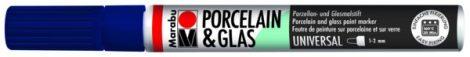 MARABU Porcelain & Glas éjkék porcelánfilc / üvegfilc - 293