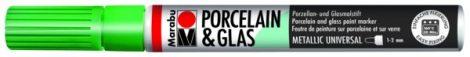 MARABU Porcelain & Glas metál zöld porcelánfilc / üvegfilc - 767