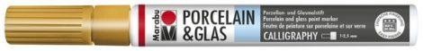 MARABU Porcelain & Glas arany porcelánfilc / üvegfilc - 084 - kalligráfiai hegy