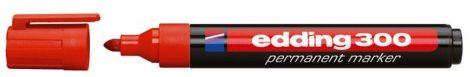 EDDING 300 alkoholos marker - PIROS