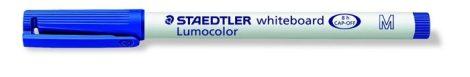 STAEDTLER Lumocolor 301 M kék táblamarker, 1 mm, kúpos