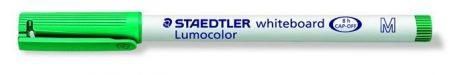 STAEDTLER Lumocolor 301 M zöld táblamarker, 1 mm, kúpos