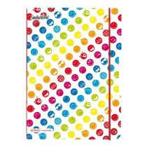 HERLITZ my.book flex füzet Smiley Rainbow A/4