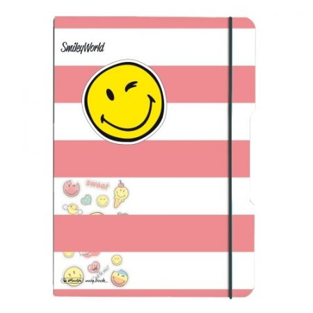 HERLITZ my.book flex füzet Smiley Girly A/4