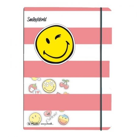 HERLITZ my.book flex füzet Smiley Girly A/5