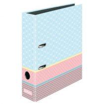 HERLITZ iratrendező / 8 cm / Graphic Pastel Blue