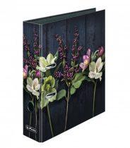 HERLITZ iratrendező /8 cm / Virágok
