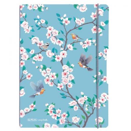 HERLITZ my.book flex füzet Ladylike Birds A/4