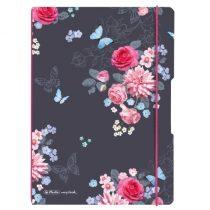 HERLITZ my.book flex füzet Ladylike Flowers A/4
