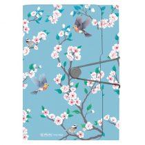 HERLITZ Ladylike Birds 12 rekeszes mappa A/4