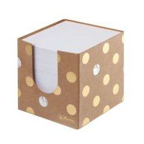 HERLITZ Pure Glam kockablokk + tartó