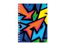 HERLITZ Neon Art négyzethálós butikkönyv A/5