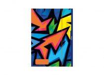 HERLITZ  Neon Art gumis mappa A/3
