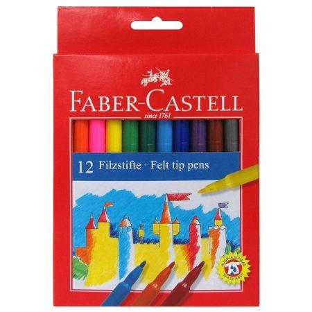 FABER-CASTELL 12 db-os filctoll készlet