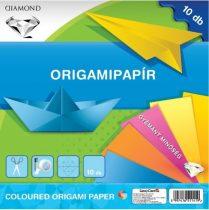 LIZZYCARD Origami hajtogató lapok 20x20 cm - 10 db