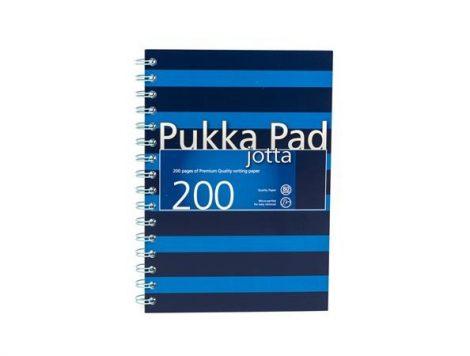 PUKKA PAD Navy Jotta kék vonalas spirálfüzet A/5