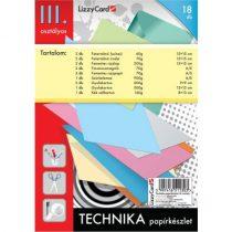 LIZZYCARD Technika papírkészlet 3. osztály