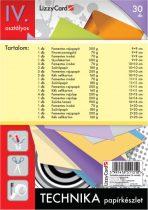 LIZZYCARD Technika papírkészlet 4. osztály
