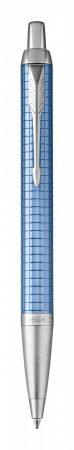 PARKER Royal IM Premium golyóstoll, kék cizellált, ezüst klipsz 1931691
