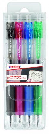 EDDING 2190 4 színű rollertoll készlet