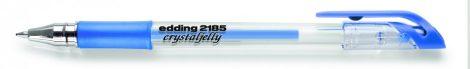 EDDING 2185 zselés toll - metál kék