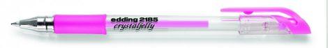 EDDING 2185 zselés toll - metál rózsaszín