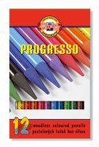 KOH-I-NOOR 8756 12 db-os Progresso színes ceruza készlet