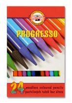 KOH-I-NOOR 8758 24 db-os Progresso színes ceruza készlet