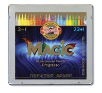 KOH-I-NOOR 8774 Progresso Magic színes ceruza készlet 24 szín