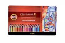 KOH-I-NOOR 3825 Polycolor 36 db-os színes ceruza készlet - fémdobozban