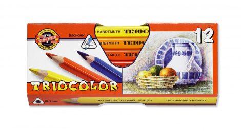 KOH-I-NOOR 3152 Triocolor 12 db-os vastag színes ceruza készlet