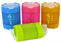 KUM 4 in 1 műanyag hegyező