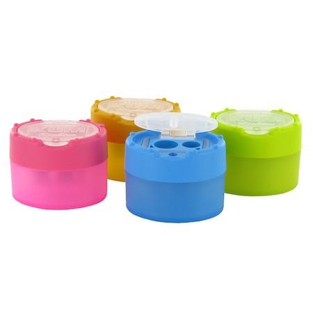 KUM Clickclack 2 lyukú műanyag hegyező