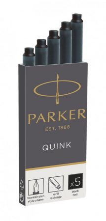PARKER Royal 5 db-os tintapatron 1950382 - fekete